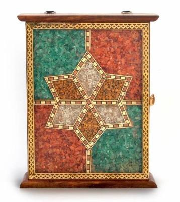 Shree Sai Handmade Antique Gemstone Handicraft Wooden Key Holder