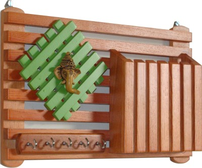 Ganeshaas GPKH021 Wooden Key Holder