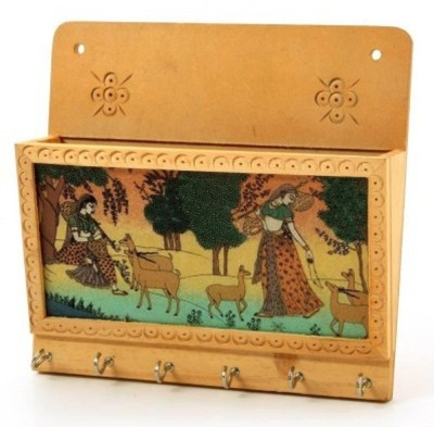 Sarthak Store Wooden Key Holder