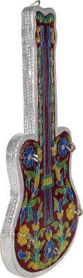 Ranvijay Guitar Shaped Wooden Key Holder