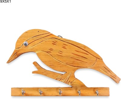 R S Jewels Baya Weaverbird Designs Wooden Key Holder