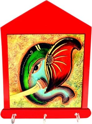 Tiedribbons Vinayak Gift For Housewarming Wooden Key Holder