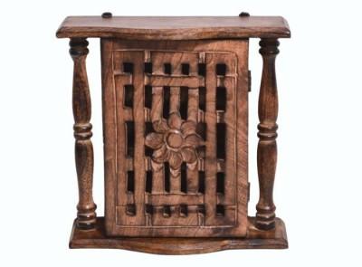 Onlineshoppee Antique Wall Hanging Box Wooden Key Holder