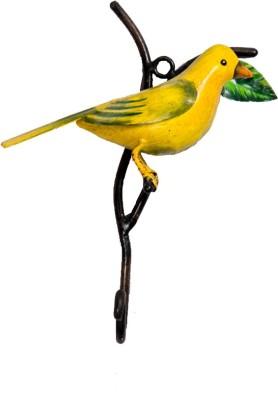 Peacock Life Decorative Bird Top Iron Clothing Hook Iron Key Holder