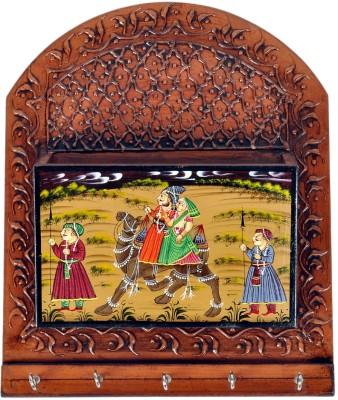 Jaipur Raga Wooden Key Holder
