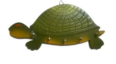 Desert Eshop Tortoise Wooden Key Holder
