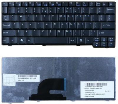 Exilient Aspire One A110, A150 Series, NSK-AJJ1D, 9J.N9482.J1D, PK130851000 Laptop Keyboard Replacement Key