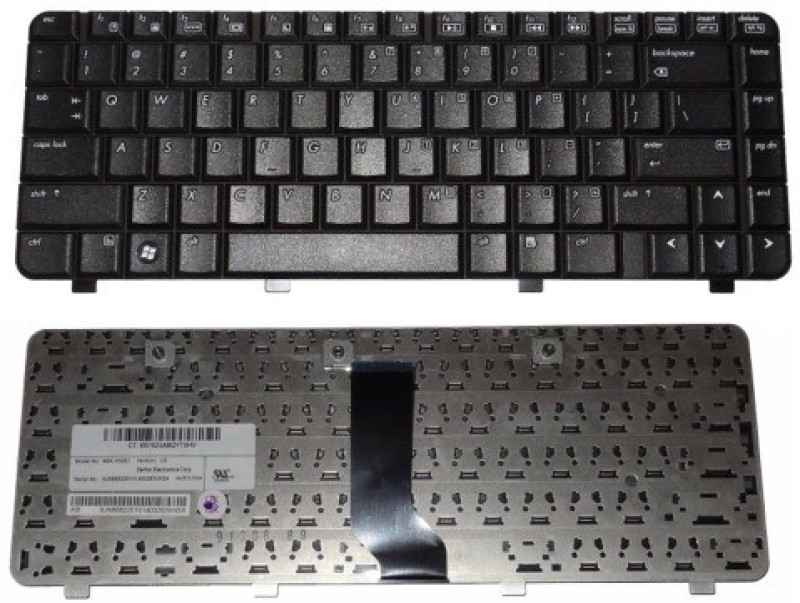 Rega IT COMPAQ PRESARIO V3044TU, V3045AU Laptop Keyboard Replacement Key