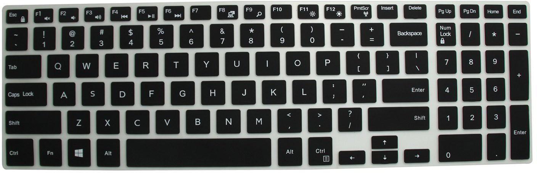 Saco Chiclet Keyboard Skin for Lenovo IdeaPad V570 Transparent