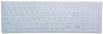 Saco Chiclet Protector Cover For Acer Aspire V5-571-6672 Laptop Keyboard Skin(Transparent)