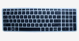 Illios KSHP66 Silicon Rubber Protector cover for HP 15-af008AX Notebook 15.6 inch laptop Keyboard Skin(Black)