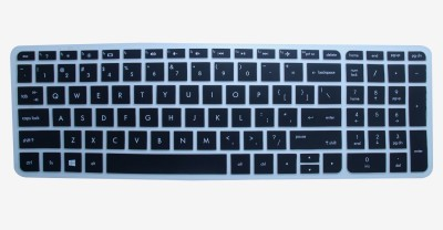 Illios-KSHP74-Silicon-Rubber-Protector-cover-for-HP-Notebook-15-AC646tx-(V5D74PA)-15.6-inch-laptop-Keyboard-Skin(Black)