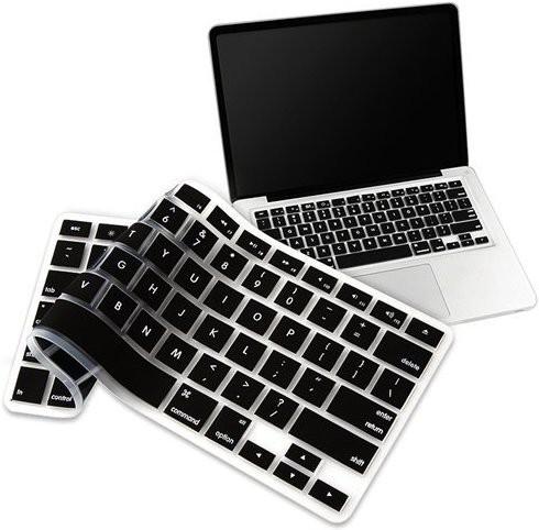 BSAAN 1041 Apple MacBook AIR 11.6 Keyboard Skin(Black)