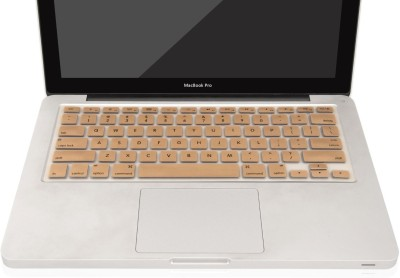 Heartly MacBook Air 11 inch Macbook Keyboard Skin(Gold)
