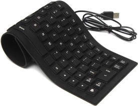 ALIVE 23 Wired USB Flexible Keyboard