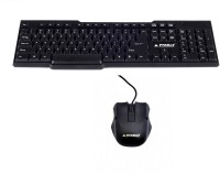 ProDot KB207 Wired USB Laptop Keyboard(Black)