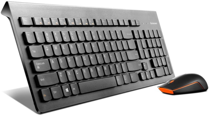 Lenovo 500 Wireless Laptop Keyboard(Black)