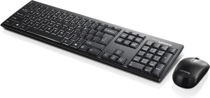 Lenovo 100 Wireless Laptop Keyboard(Black)