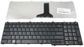 Tech Gear Replacement Keyboard For TOSHIBA SATELITE C655D-S5087 C655D-S5088 Wireless Laptop Keyboard(Black)