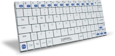 Zebronics Tabmate White Bluetooth Laptop Keyboard
