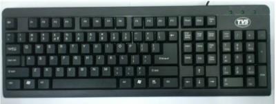 TVS-e Champ Wired USB Laptop Keyboard