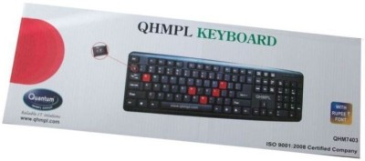 Quantum qhm7403w Wired USB Gaming Keyboard