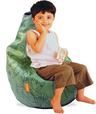 ORKA Ben 10 Small Bean Bag Leatherette S Teardrop Kid Bean Bag