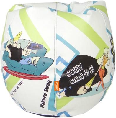 ORKA Johny Bravo Leatherette S Teardrop Kid Bean Bag