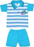 Sixer Knitting Striped Kids Costume Wear