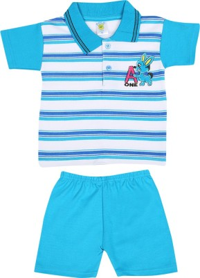 Sixer Knitting Striped Kids Costume Wear