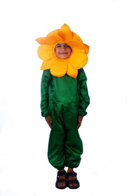 SBD Yellow Sun Flower Fancy dress costume for kids Kids Costume Wear