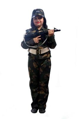SBD Community helper Military Army force community helper fancy dress costume for kids Kids Costume Wear