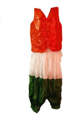 Fancydresswale Flag Kids Costume Wear