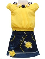 Golden Girl Solid Kids Costume Wear