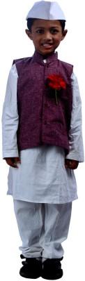 SBD National Heros Jawaharlal Nehru Kids Costume Wear