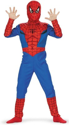 Fancydresswale Spiderboy Kids Costume Wear