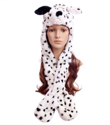 Fancydresswale Dalmatian Dog Kids Costume Wear