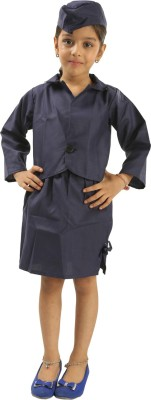 Fancydresswale Airhostess Kids Costume Wear