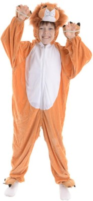 Fancydresswale Lion Kids Costume Wear