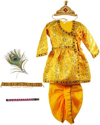 Pakhi Fashions Krishna Kids Costume Wear