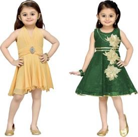 Aarika Birthday Special Frock Kids Costume Wear
