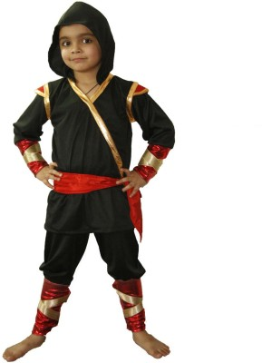 Fancydresswale Ninja Kids Costume Wear