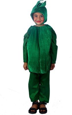 SBD Capsicum vegetable fancy dress costume for kids Kids Costume Wear