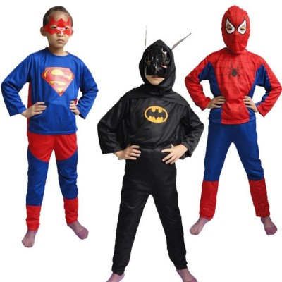 Fancydresswale Superman,Batman,Spiderman Kids Costume Wear