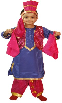 Fancydresswale Bhangra Kids Costume Wear