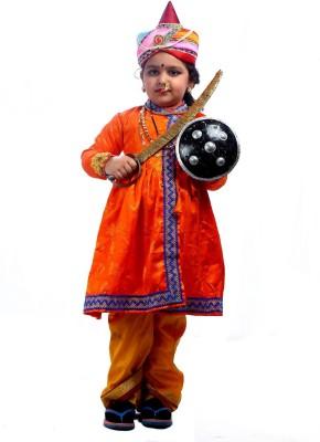 SBD National Heros Jhansi Rani fancy dress costume for kids Kids Costume Wear