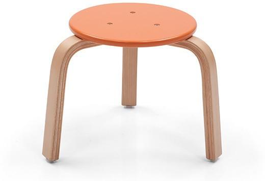 View OCradle Solid Wood Stool(Finish Color - Orange) Furniture (OCradle)