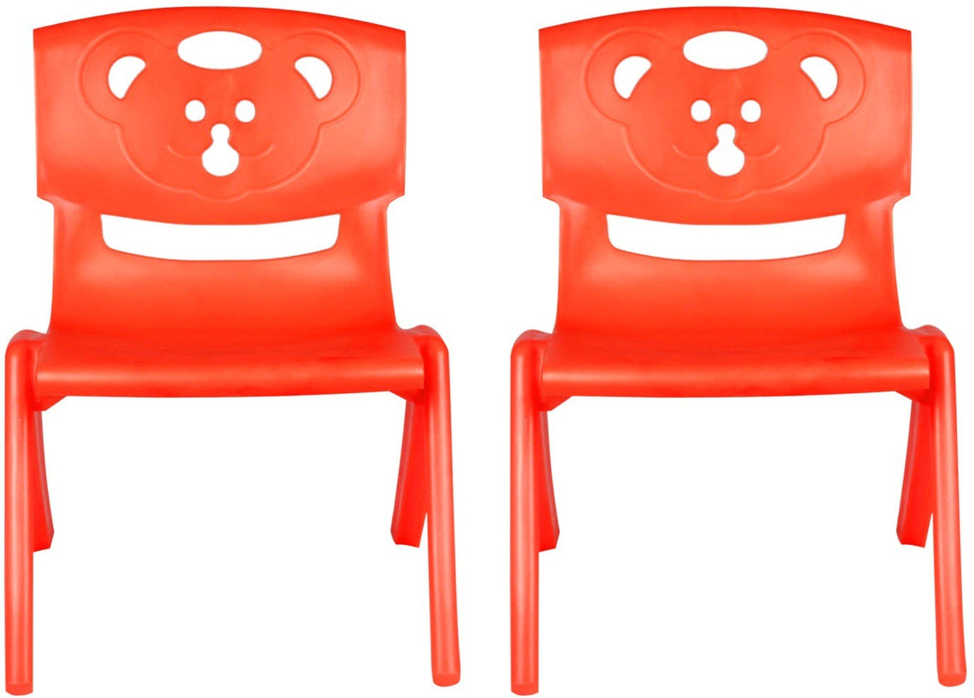 View Sunbaby MAGIC BEAR CHAIR Plastic Chair(Finish Color - RED, RED) Furniture (Sunbaby)