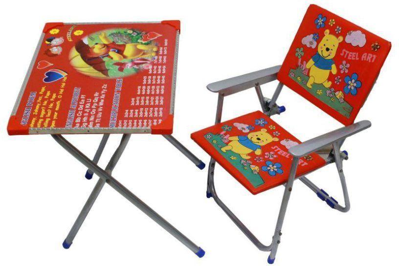 View Shopimoz Plastic Desk Chair(Finish Color - Red) Furniture (Shopimoz)