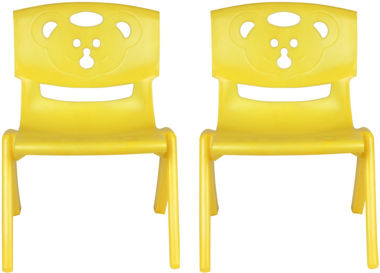 View Sunbaby MAGIC BEAR CHAIR Plastic Chair(Finish Color - YELLOW, YELLOW) Furniture (Sunbaby)